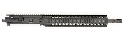 """BCM® Standard 14.5"""" Mid Length Upper Receiver Group w/ Midwest Industries T12G2 12"""" Handguard"""