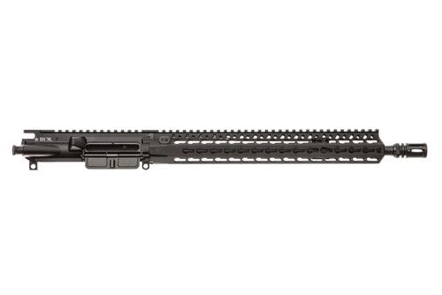 "BCM® Standard 14.5"" Mid Length (ENHANCED Light Weight) Upper Receiver Group w/ KMR-A13 Handguard"