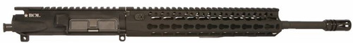 "BCM® Standard 14.5"" Mid Length (ENHANCED Light Weight-*FLUTED*) Upper Receiver Group w/ KMR-A10 Handguard"