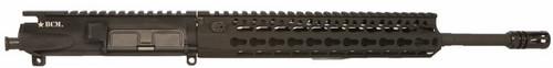 """BCM® Standard 14.5"""" Mid Length (ENHANCED Light Weight-*FLUTED*) Upper Receiver Group w/ KMR-A10 Handguard"""