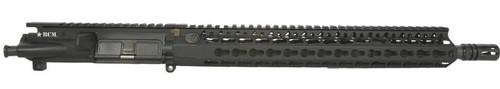 """BCM® Standard 14.5"""" Mid Length (ENHANCED Light Weight-*FLUTED*) Upper Receiver Group w/ KMR- A13 Handguard"""