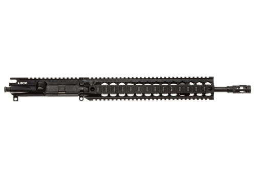 "BCM® Standard 14.5"" Mid Length (ENHANCED Light Weight-*FLUTED*) Upper Receiver Group w/ QRF-12 Handguard"