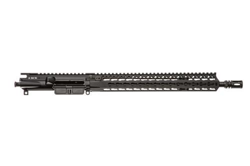 """BCM® Standard 14.5"""" Mid Length (Enhanced MEDIUM Weight-*FLUTED*) Upper Receiver Group w/ KMR-A13 Handguard"""