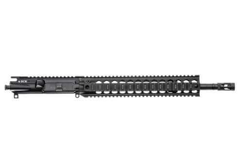"BCM® Standard 14.5"" Mid Length (Enhanced MEDIUM Weight-*FLUTED*) Upper Receiver Group w/ QRF-12 Handguard"