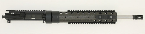 "BCM® SS410 16"" Mid Length Upper Receiver Group w/ PRI 12"" NATURAL Handguard 1/8 Twist"