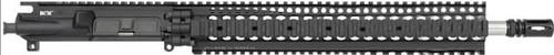 "BCM® SS410 16"" Mid Length Upper Receiver Group w/ Daniel Defense LITE RAIL III(DDM4), 15"" Handguard 1/8 Twist"