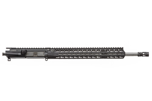 "BCM® SS410 16"" Mid Length Upper Receiver Group w/ KMR-A13 Handguard 1/8 Twist (Ionbond BLACK)"