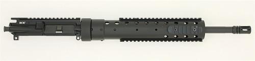 "BCM® SS410 16"" Mid Length Upper Receiver Group w/ PRI 12"" BLACK Handguard 1/8 Twist (Ionbond BLACK)"