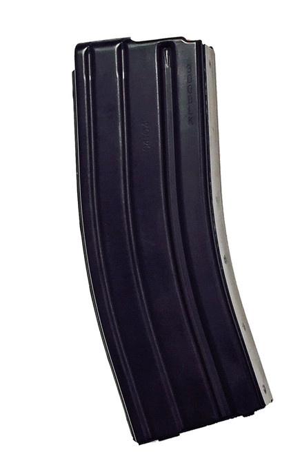 AR15 .300 Blackout Magazine with Teflon Finish, Red D&H Follower, 30 Round, BLACK