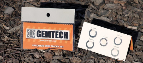 GEMTECH  Shim Kits for Mounting Flash Hiders 1/2 x 28