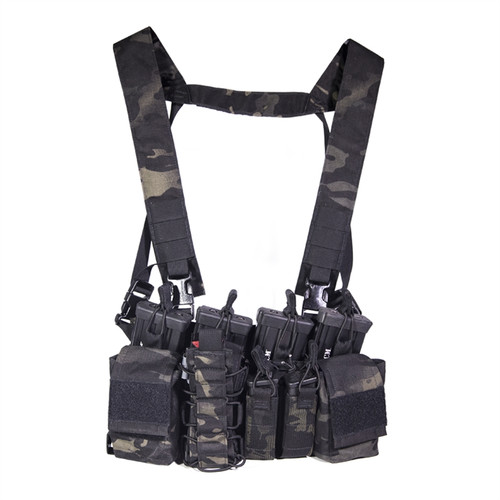 DISRUPTIVE ENVIRONMENTS CHEST RIG - MULTICAM BLACK (Limited Edition)