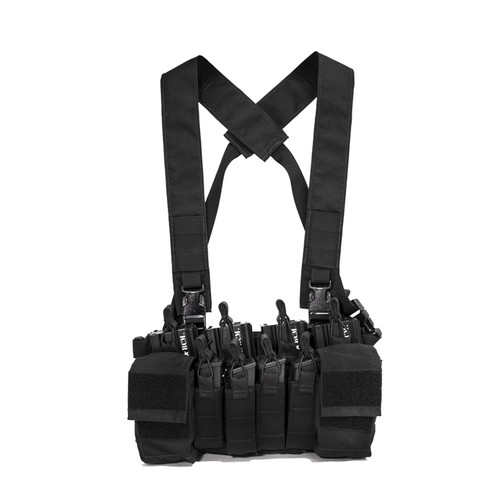 DISRUPTIVE ENVIRONMENTS CHEST RIG X - BLACK