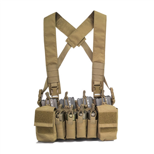 DISRUPTIVE ENVIRONMENTS CHEST RIG X - COYOTE