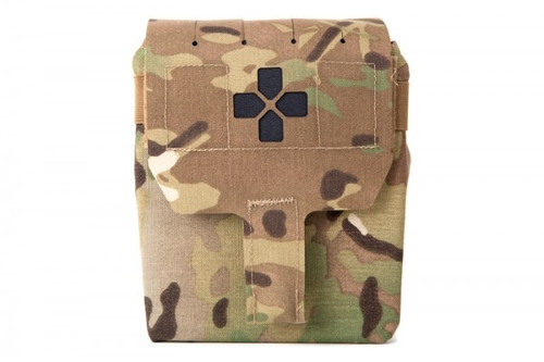Blue Force Gear Trauma Kit NOW! with Helium Whisper™ Attachment System and Supplies-MULTICAM
