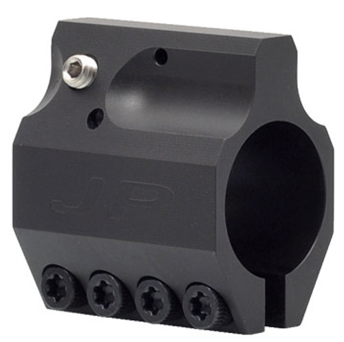 JP Adjustable Gas Block - Low Profile - Black