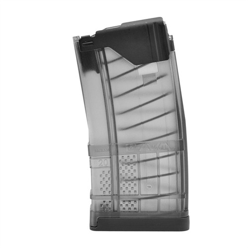 Lancer Systems L5 Advanced Warfighter Magazines 20rd (*Translucent Smoke*)