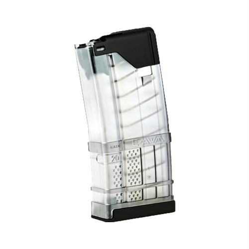 Lancer Systems L5 Advanced Warfighter Magazines 20rd (*Translucent Clear*)