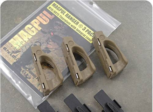 Magpul RANGER PLATES 3 Pack FLAT DARK EARTH (5.56mm) for GI Mags