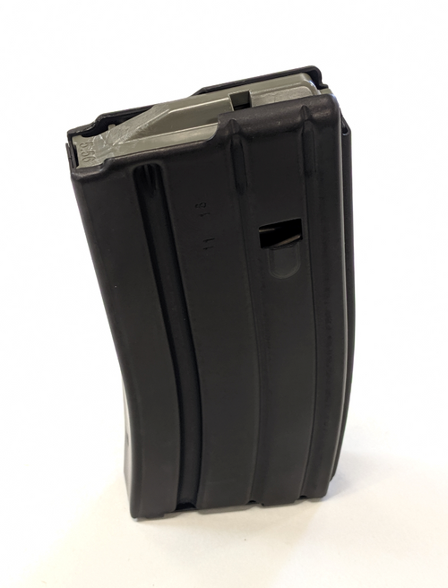 AR15 Magazines with Black Teflon Finish 20 Round Magpul Follower