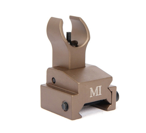 MI Folding Front Sight - Rail Mount - FLAT DARK EARTH