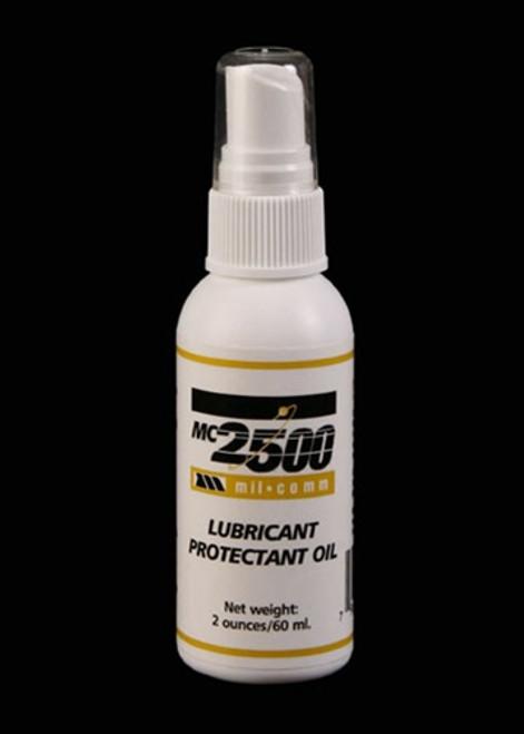 Mil-Comm MC2500 - Oil 2 oz plastic bottle
