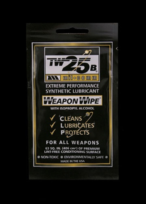 Mil-Comm TW25B Weapon Wipe - 10 Pack