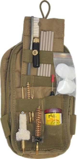 Pro-Shot Products Coyote Pouch & Coated Rods for .308 Cal./7.62mm