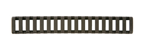 Low Profile Rail Cover BLACK