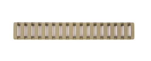 Low Profile Rail Cover FLAT DARK EARTH