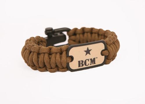 Survival Straps BCM® Survival Bracelet - Coyote Brown
