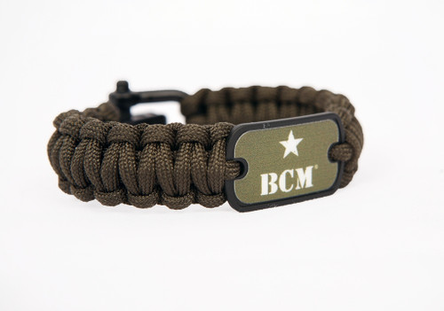 Survival Straps BCM® Survival Bracelet - OD Green