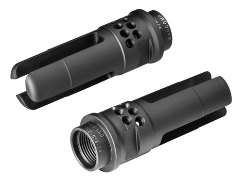 SureFire WARCOMP 762  Flash Hider / Suppressor Adapter for 7.62 mm (.308 cal.) Rifles
