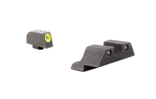 Trijicon GL101Y Glock HD Night Sight Set - Yellow Front Outline