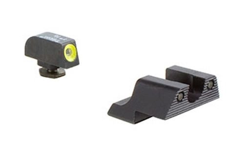 Trijicon HD™ Night Sight Set- Yellow Front Outline for Glock® Pistols