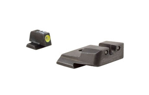 Trijicon SA137Y S&W HD Night Sight Set - Yellow Front Outline