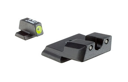 Trijicon S&W® Shield™ HD Night Sight Set - Yellow Front Outline