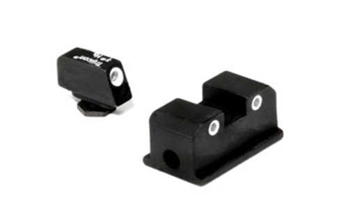 Trijicon WP01: Walther® Bright & Tough Night Sight Set  (Green Front & Rear Lamps)