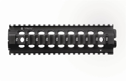 Troy Ind. Tactical Handguard DI (DROP IN) MID Length - 9 Inch Model - BLACK