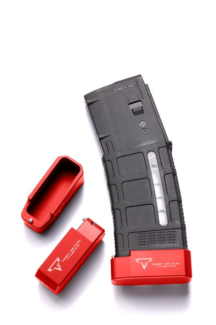 TTI PMAG Base Pad, Red