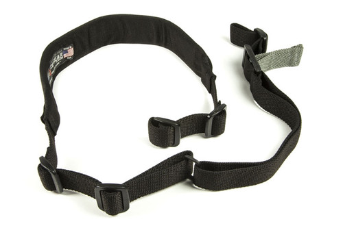 PADDED Vickers Combat Applications Sling - OA Model - BLACK