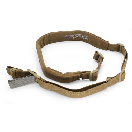 PADDED Vickers Combat Applications Sling - OA Model - COYOTE BROWN