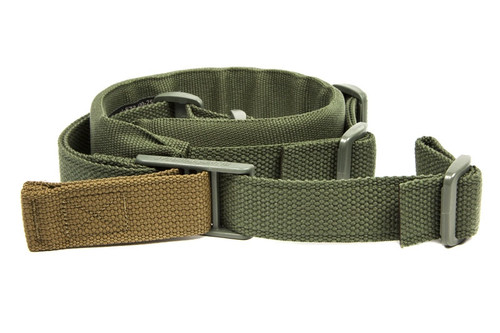 PADDED Vickers Combat Applications Sling - OA Model - OD GREEN