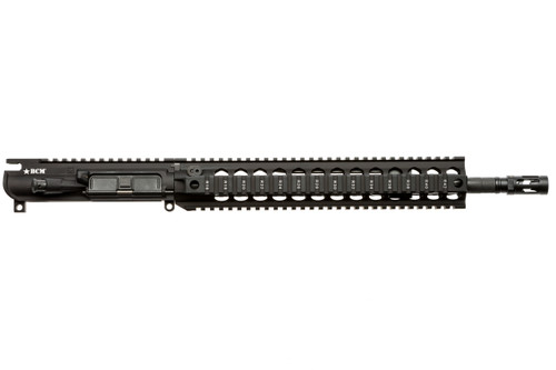 "BCM® MK2 Standard 14.5"" Mid Length (Enhanced MEDIUM Weight-*FLUTED*) Upper Receiver Group w/ QRF-12 Handguard"