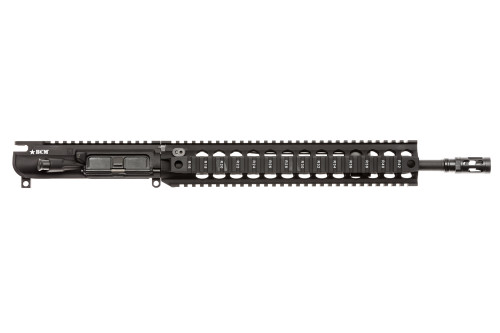 "BCM® MK2 Standard 14.5"" Mid Length (ENHANCED Light Weight-*FLUTED*) Upper Receiver Group w/ QRF-12 Handguard"