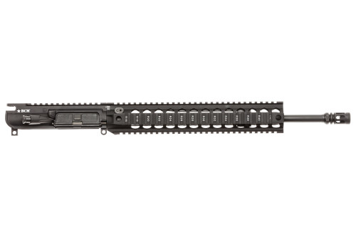 "BCM® MK2 Standard 16"" Mid Length (ENHANCED Light Weight-*FLUTED*) Upper Receiver Group w/ QRF-12 Handguard"