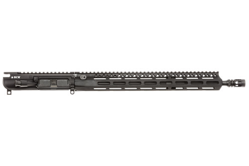 "BCM® MK2 Standard 16"" Mid Length (ENHANCED Light Weight-*FLUTED*) Upper Receiver Group w/ MCMR-15 Handguard"