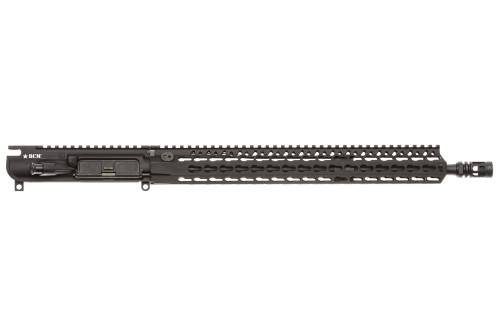 "BCM® MK2 Standard 16"" Mid Length (ENHANCED Light Weight-*FLUTED*) Upper Receiver Group w/ KMR-A15 Handguard"