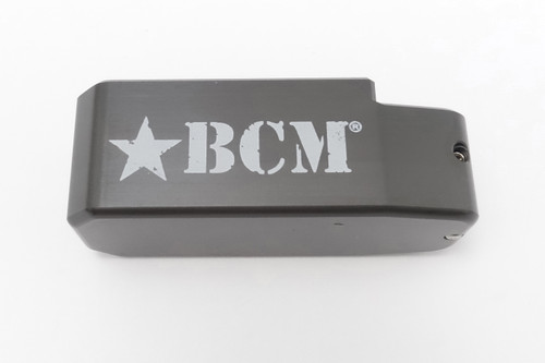 TTI Base Pad For AR 15 .223 30/40 Round PMAG Magazines (Titanium Gray)- BCM