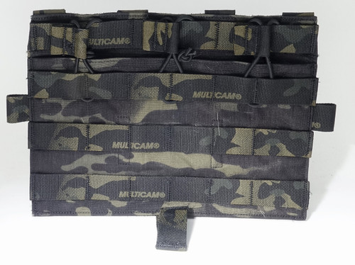 Crye Precision AVS Detachable Flap, M4 FLAT - MultiCam Black (Special Run)