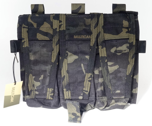 Crye Precision AVS Detachable Flap, M4 - MultiCam Black (Special Run)